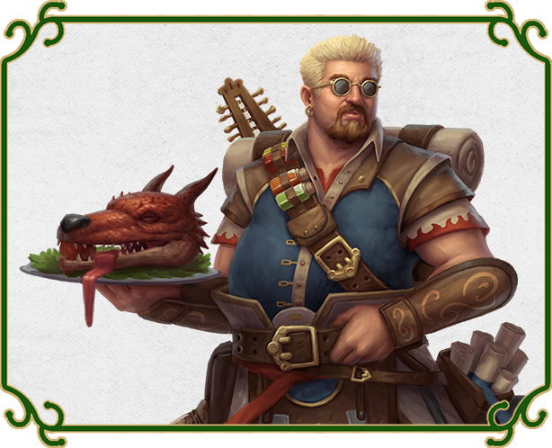 A bard chef That Looks Like Guy Fieri